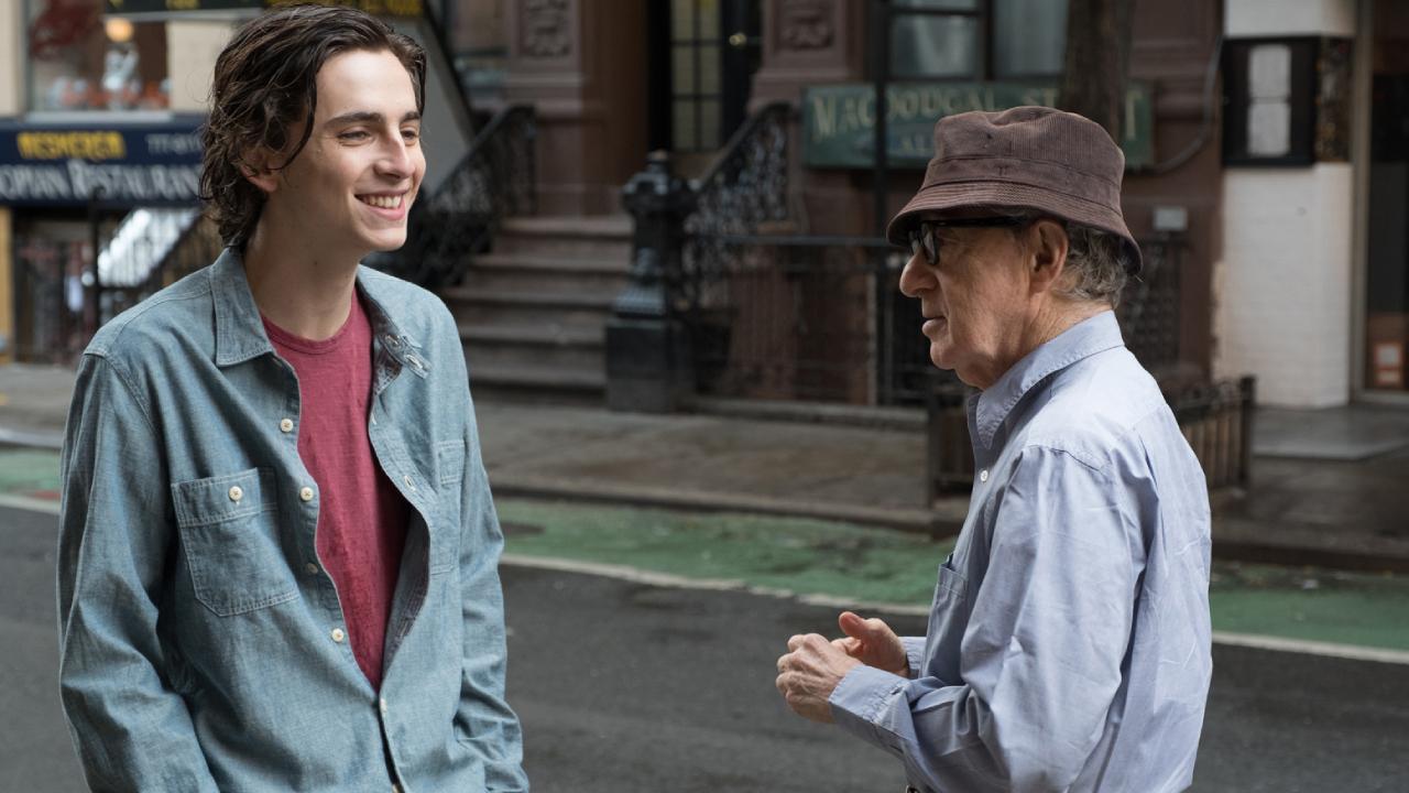 Woody Allen accuse Timothée Chalamet de l'avoir dénoncé pour obtenir un Oscar