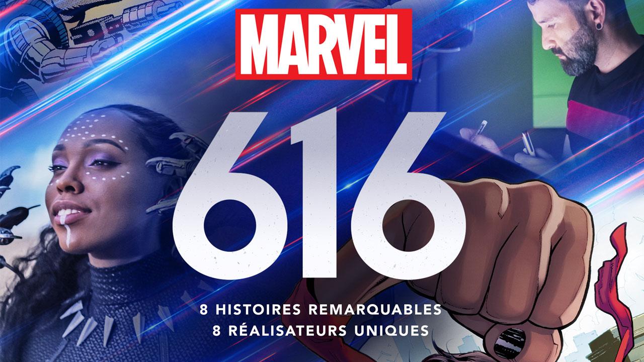 Bande-annonce Marvel's 616 : la série documentaire de Disney+ arrive en novembre