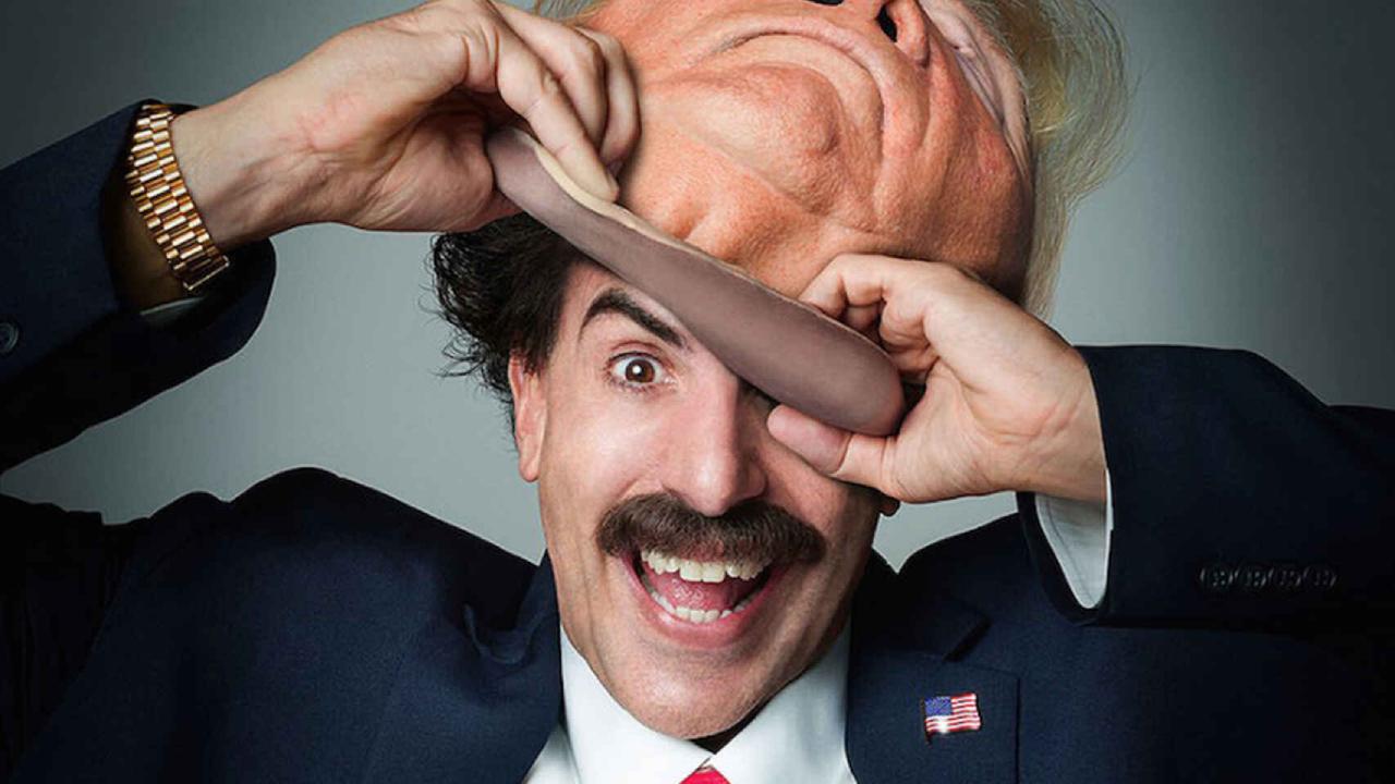 Borat 2 sur Amazon : un conseiller de Trump pris la main dans le sac par Sacha Baron Cohen