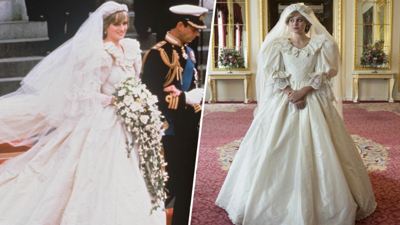 Lady Di dans The Crown : 7 fois où la série a copié les vraies robes de la princesse Diana