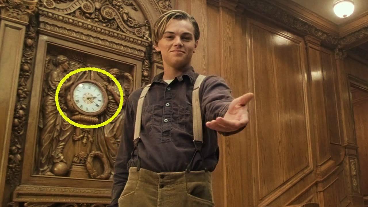 Titanic : 9 détails cachés dans le film