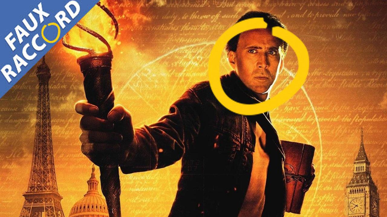Faux Raccord Benjamin Gates : les gaffes et erreurs des films avec Nicolas Cage