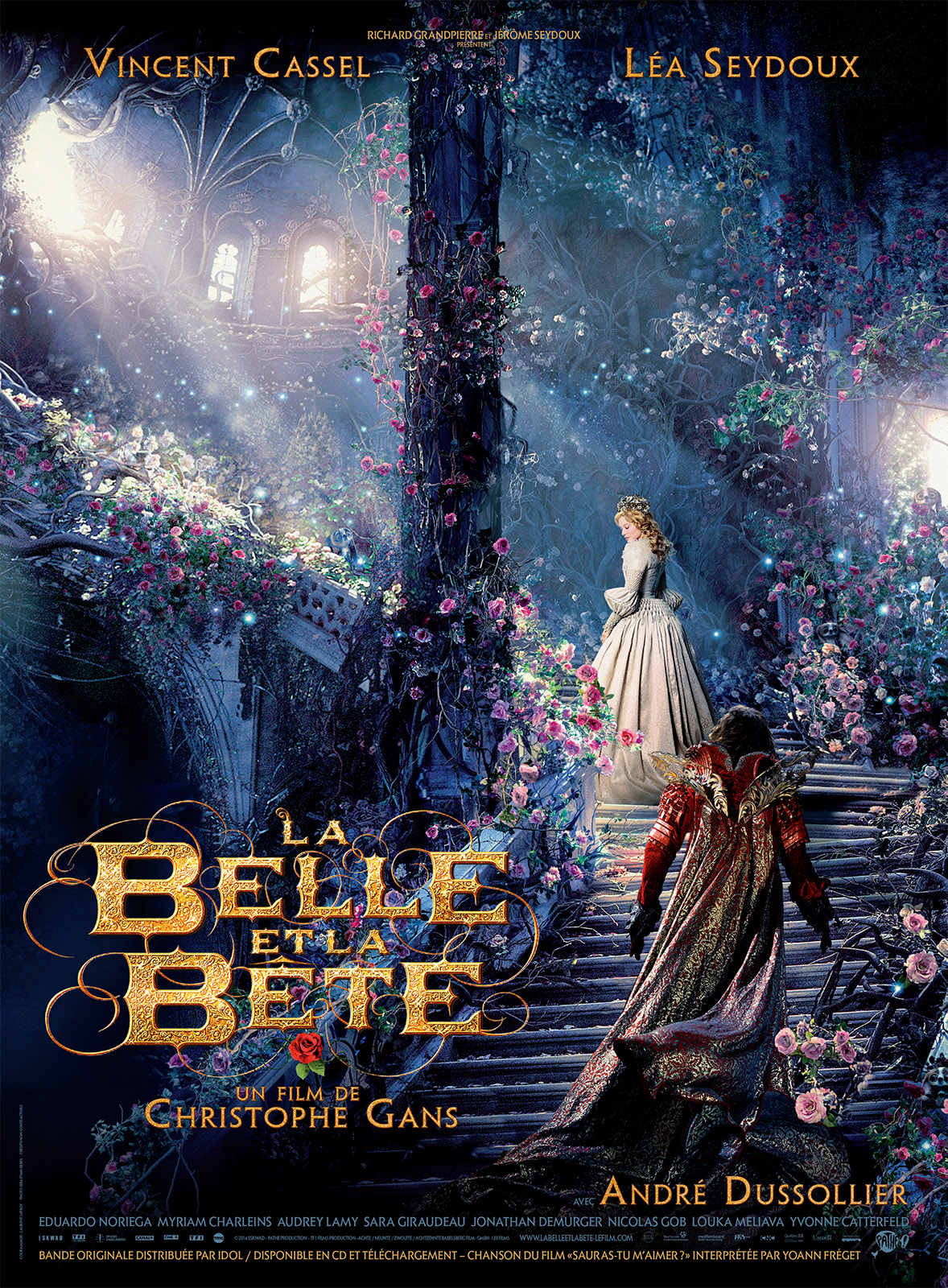 affiche du film la belle et la b te affiche 4 sur 4 allocin. Black Bedroom Furniture Sets. Home Design Ideas