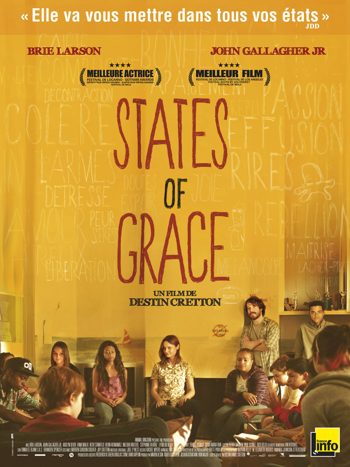 critiques presse pour le film states of grace allocin. Black Bedroom Furniture Sets. Home Design Ideas