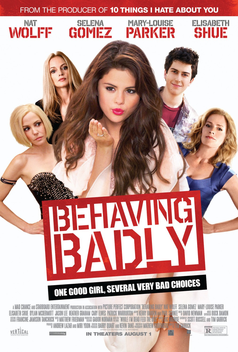 Behaving badly film 2013 allocin for Le nombre 13 film
