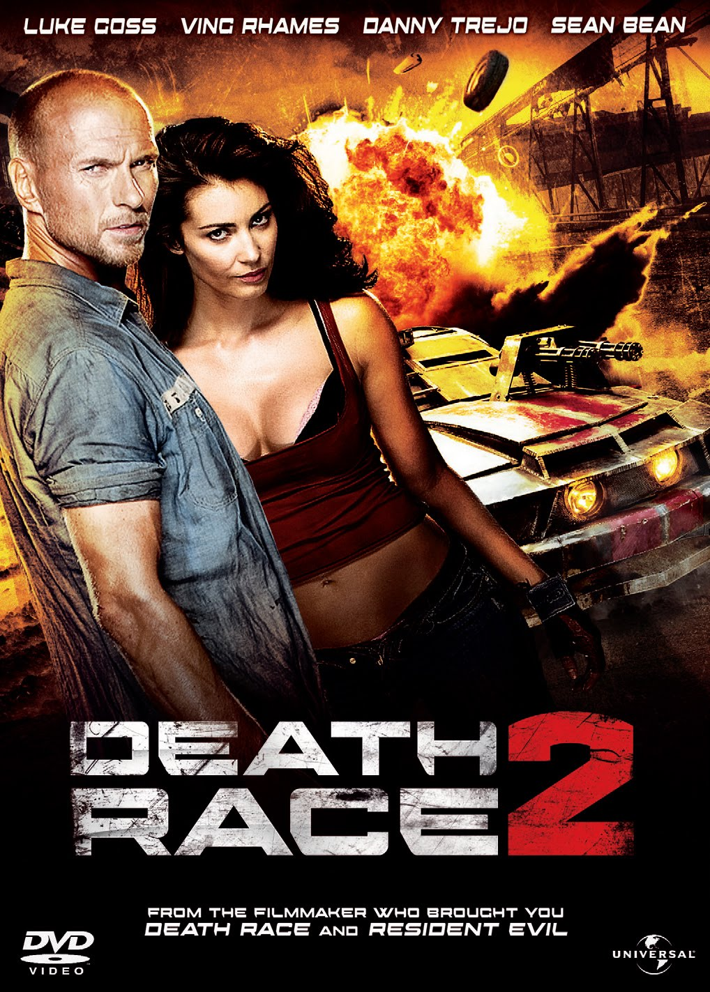 death race 2 film 2010 allocin. Black Bedroom Furniture Sets. Home Design Ideas