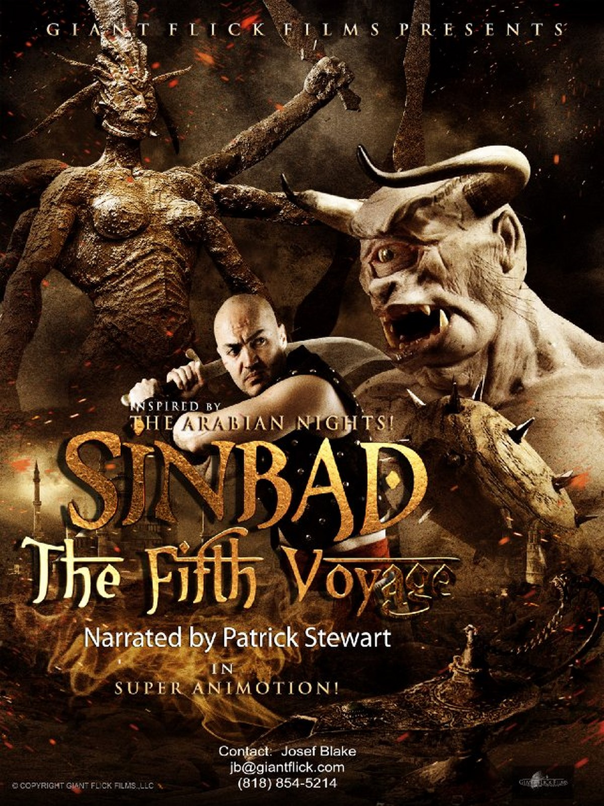 telecharger Sinbad: The Fifth Voyage 1080p HDRIP