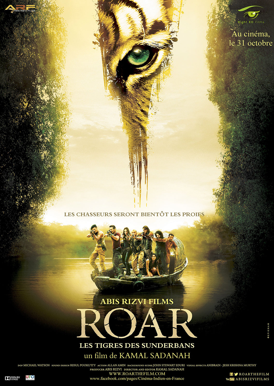 ROAR – Les Tigres des Sunderbans Streaming Complet VF
