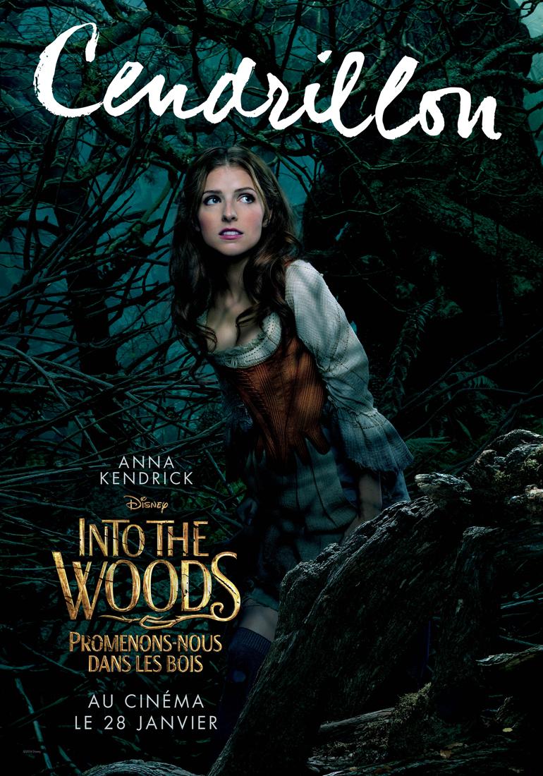 Affiche du film Into the Woods, Promenons-nous dans les ... Emily Blunt Films