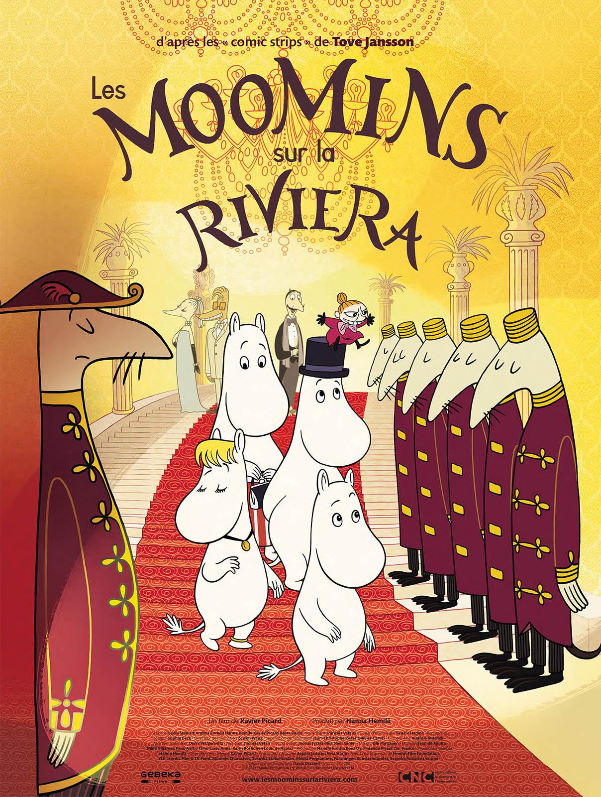 Image Les Moomins sur la Riviera