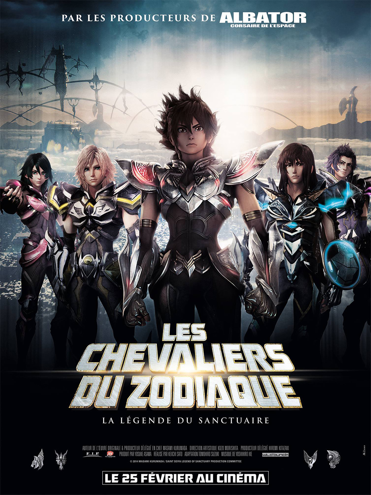 les chevaliers du zodiaque streaming vf