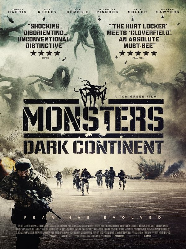 Monsters: Dark Continent affiche
