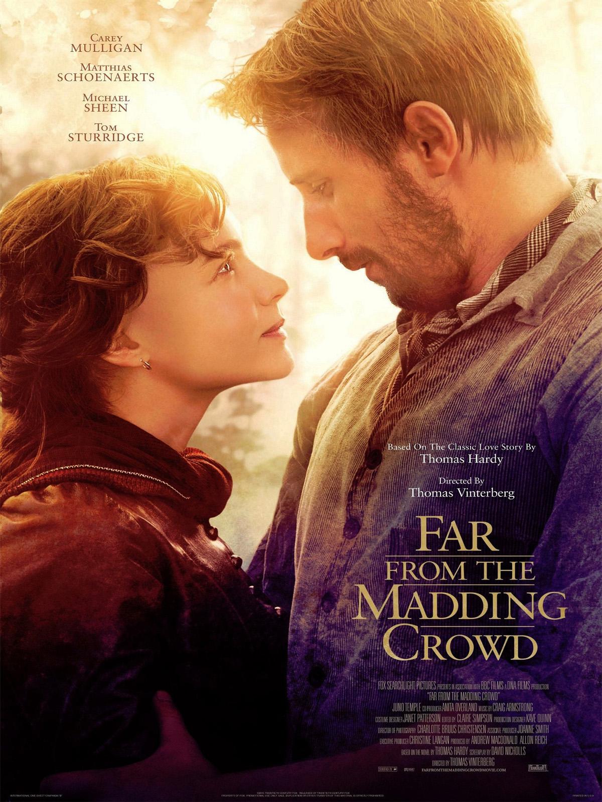 """Loin de la foule déchaînée """"Far from the Madding Crowd"""""""