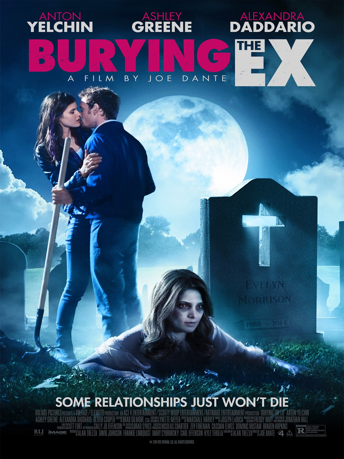 Burying the Ex affiche