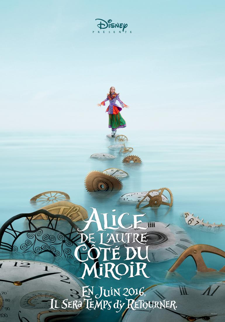 Affiche du film alice de l 39 autre c t du miroir affiche for Au dela du miroir