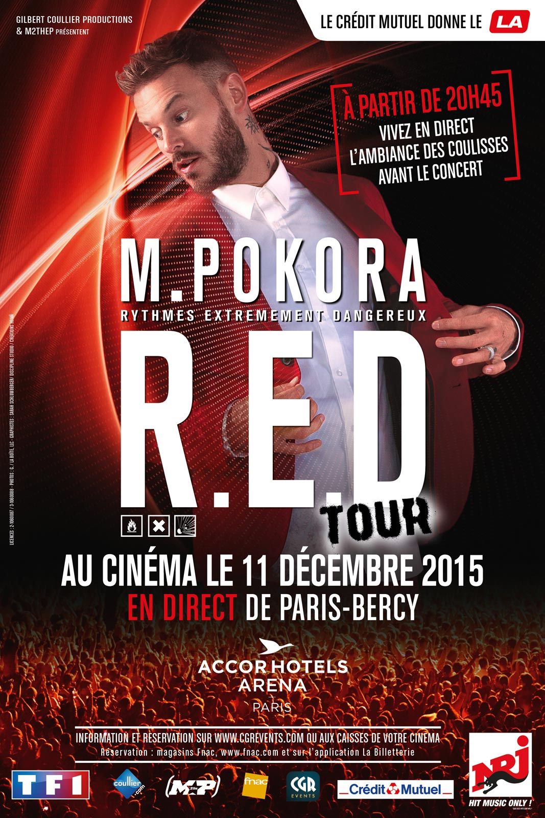 M. Pokora RED Tour Streaming Gratuit Français