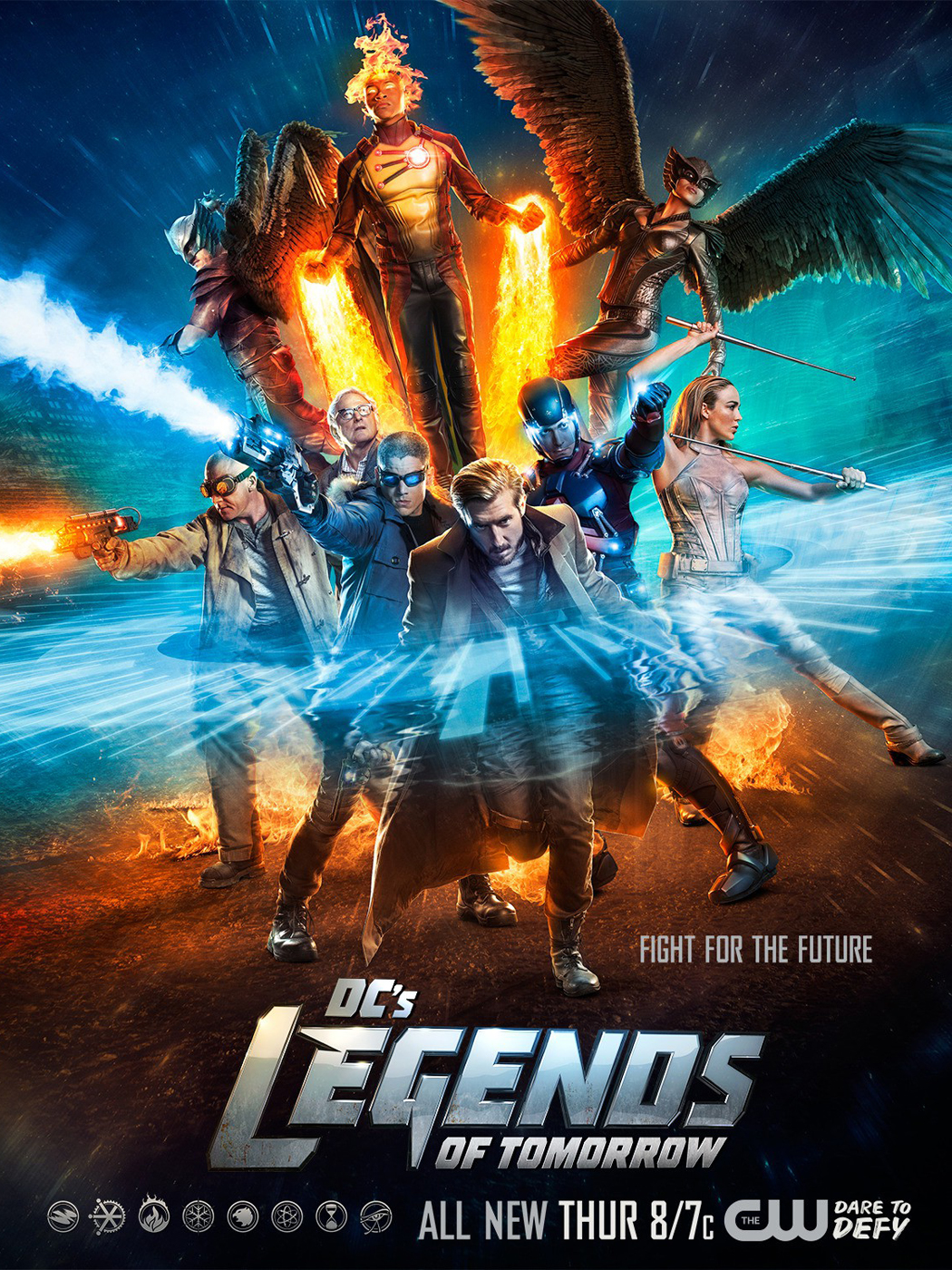 Affiche de la série Legends of Tomorrow