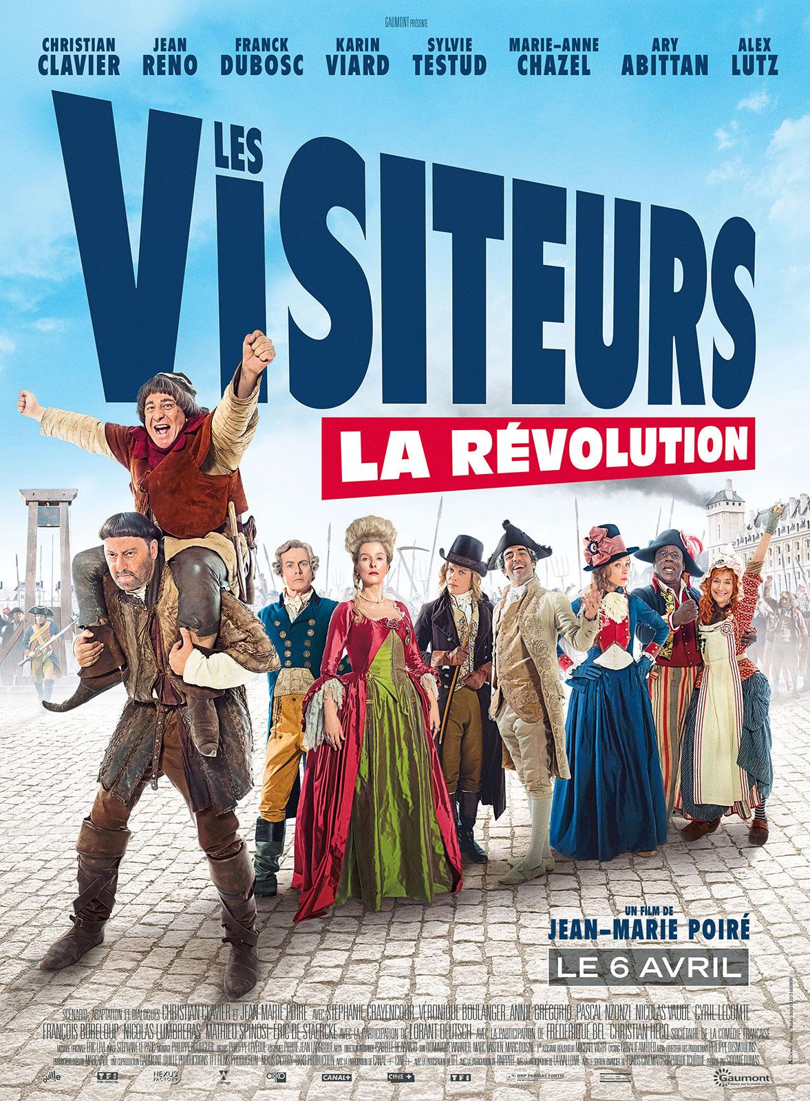 Les visiteurs la révolution  124820