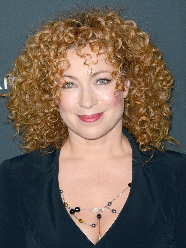 Alex Kingston happily ever after