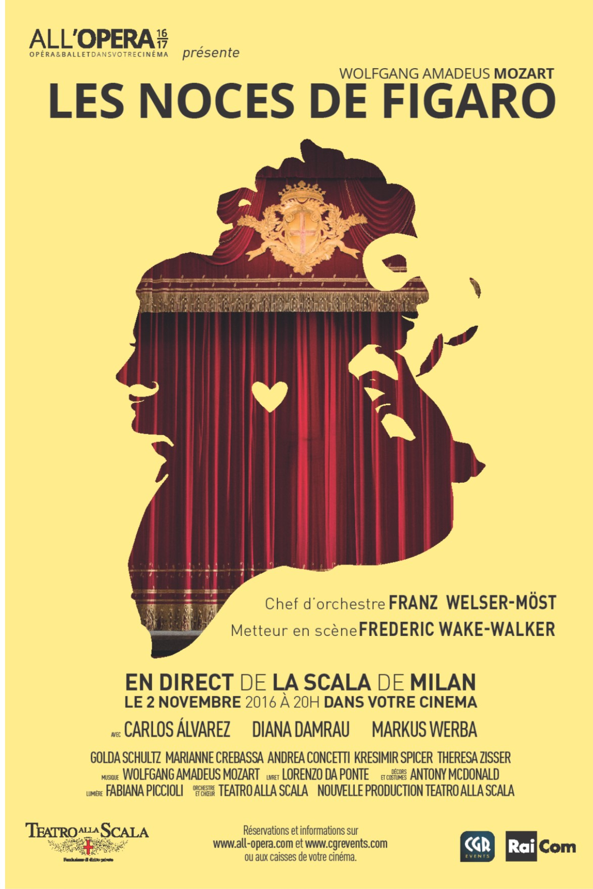 Les Noces de Figaro - All'Opera (CGR Events) Streaming Français Complet