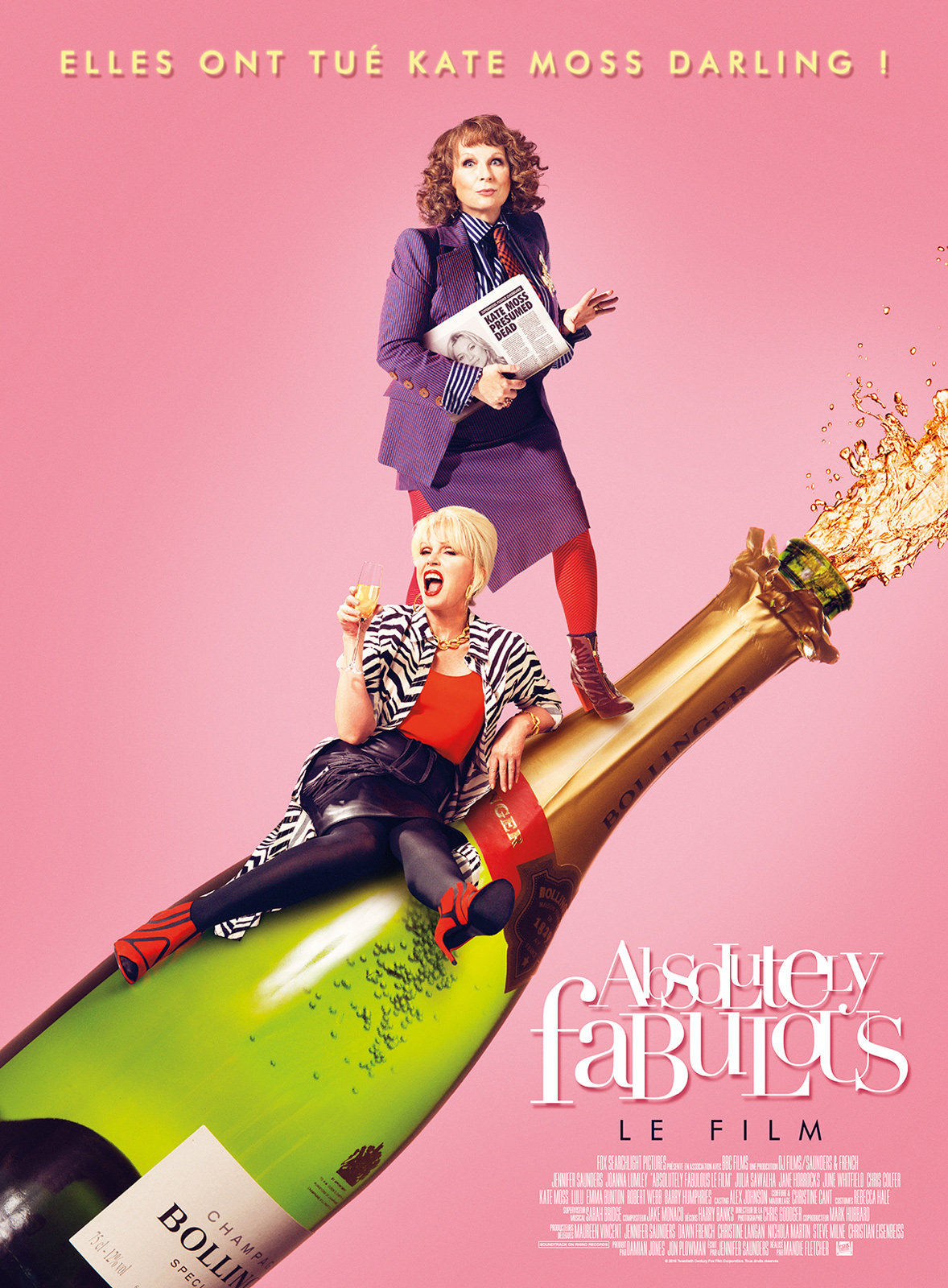 Absolutely Fabulous : Le Film ddl