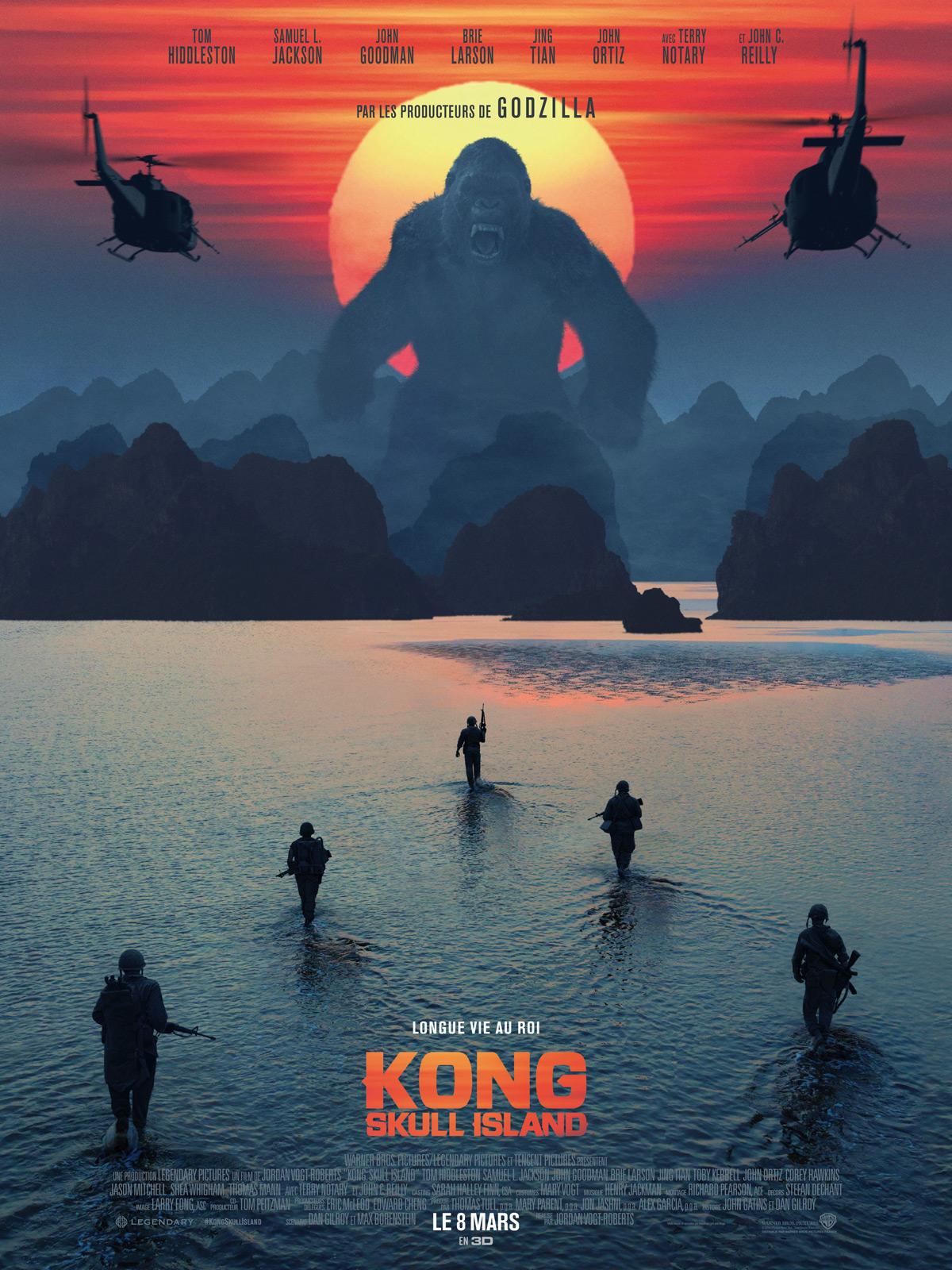 Sortie Dvd Kong Skull Island