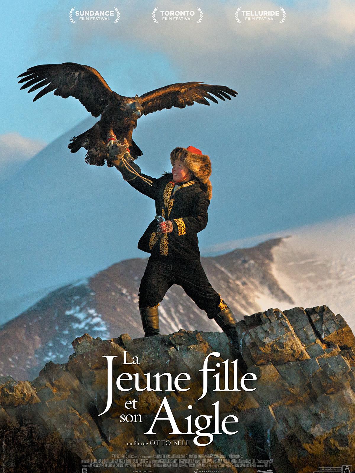 Image du film La jeune fille et son aigle
