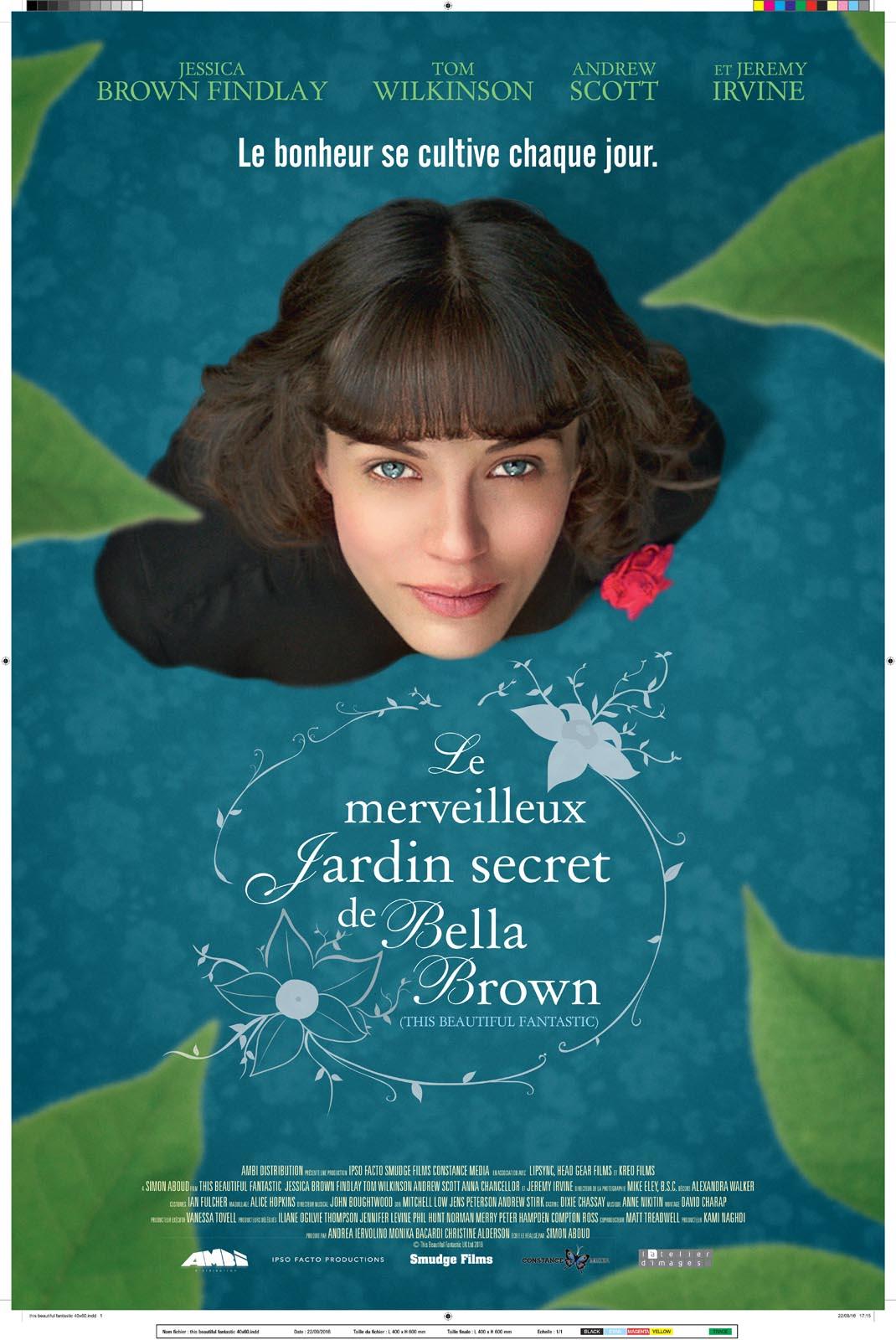 Le merveilleux jardin secret de Bella Brown | Aboud, Simon. Metteur en scène ou réalisateur. Scénariste