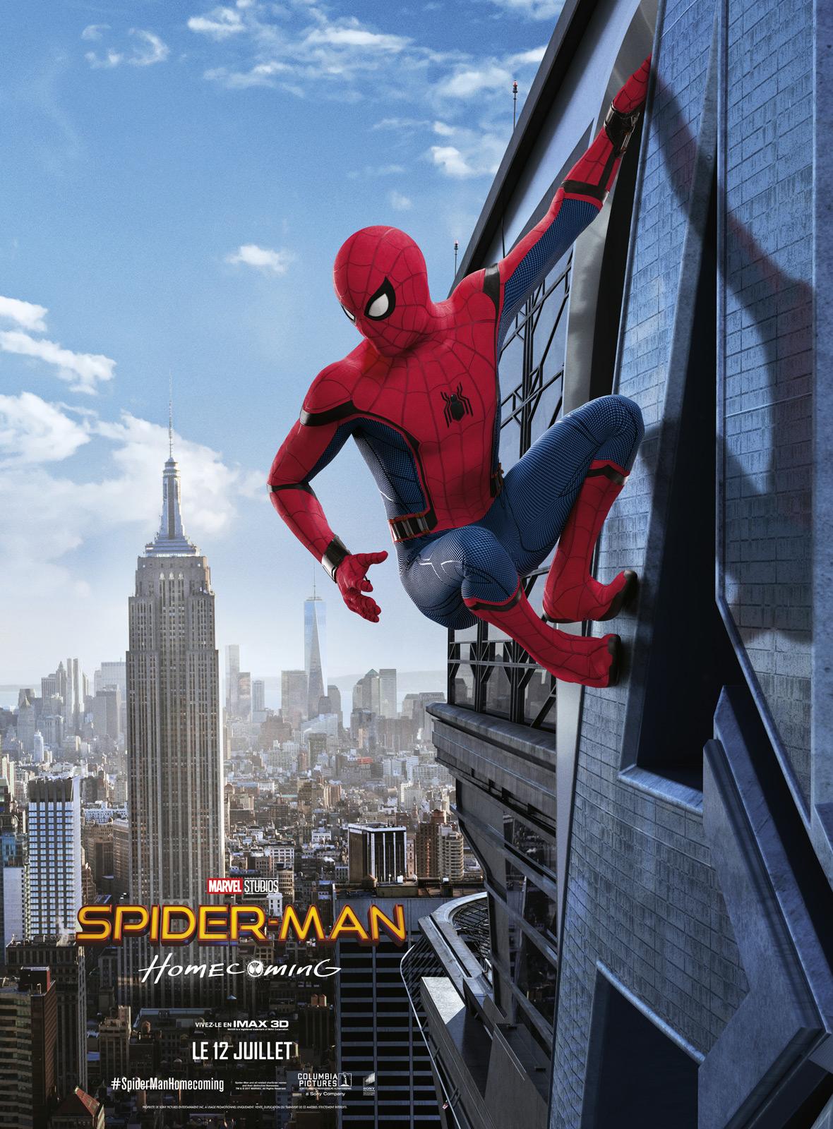 spider man homecoming film 2017 allocin