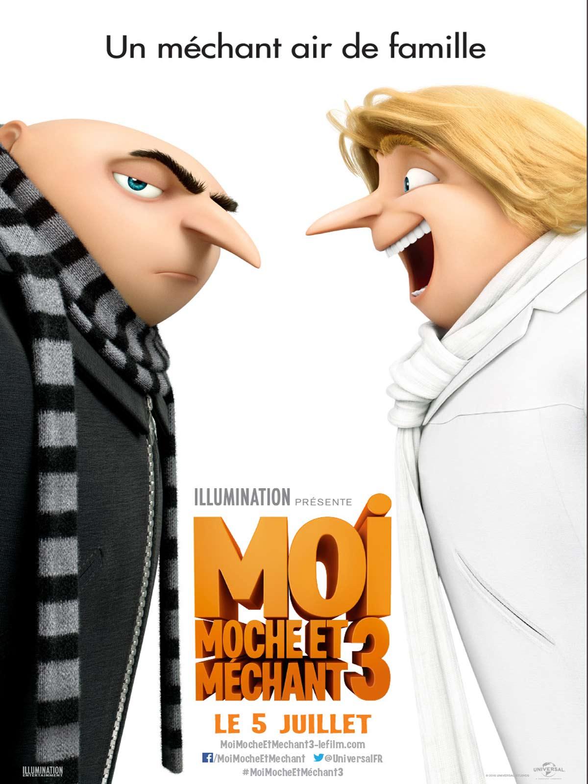 Moi, Moche et Méchant 3 streaming