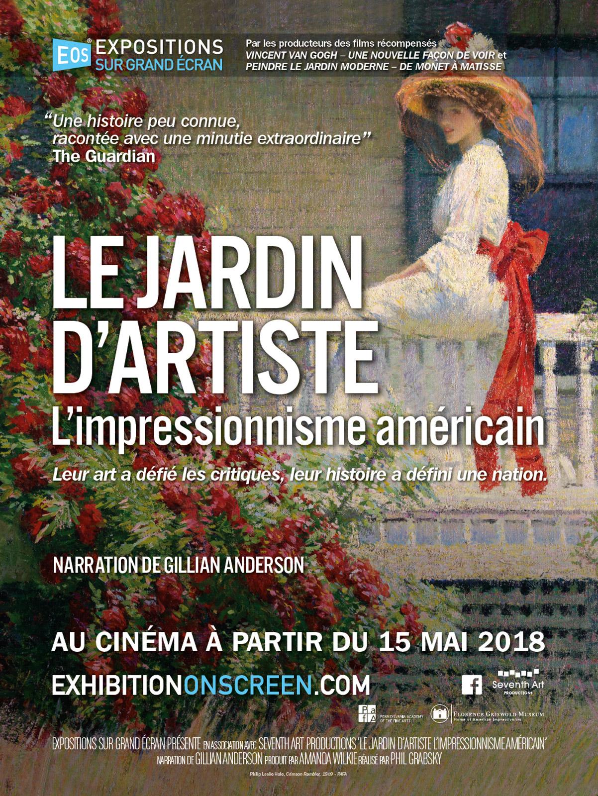 Le jardin d artiste L Impressionnisme Américain film 2017