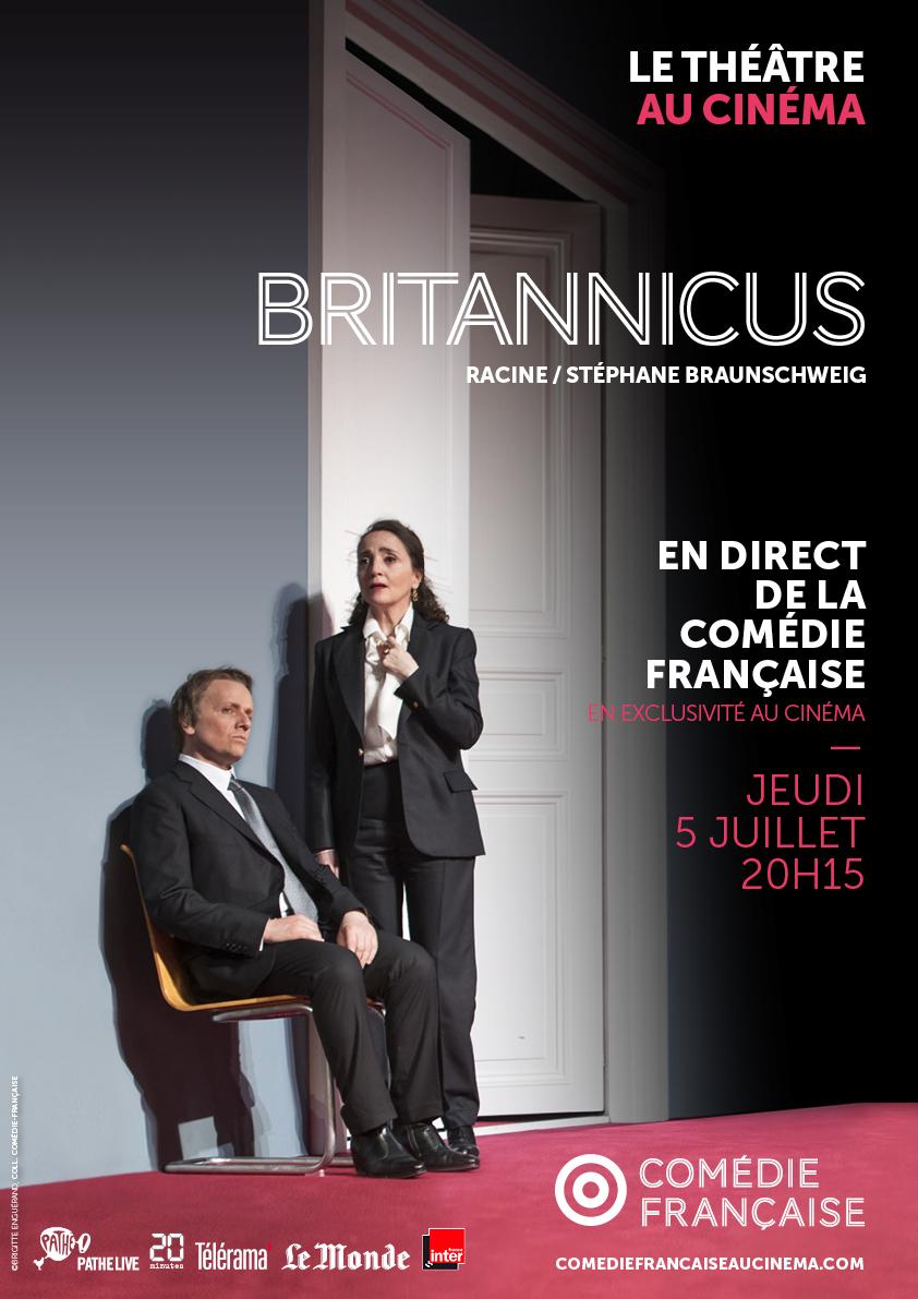Image du film Britannicus (Comédie-Française / Pathé Live)