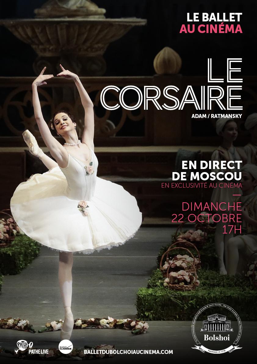 Le Corsaire (Bolchoï-Pathé Live)