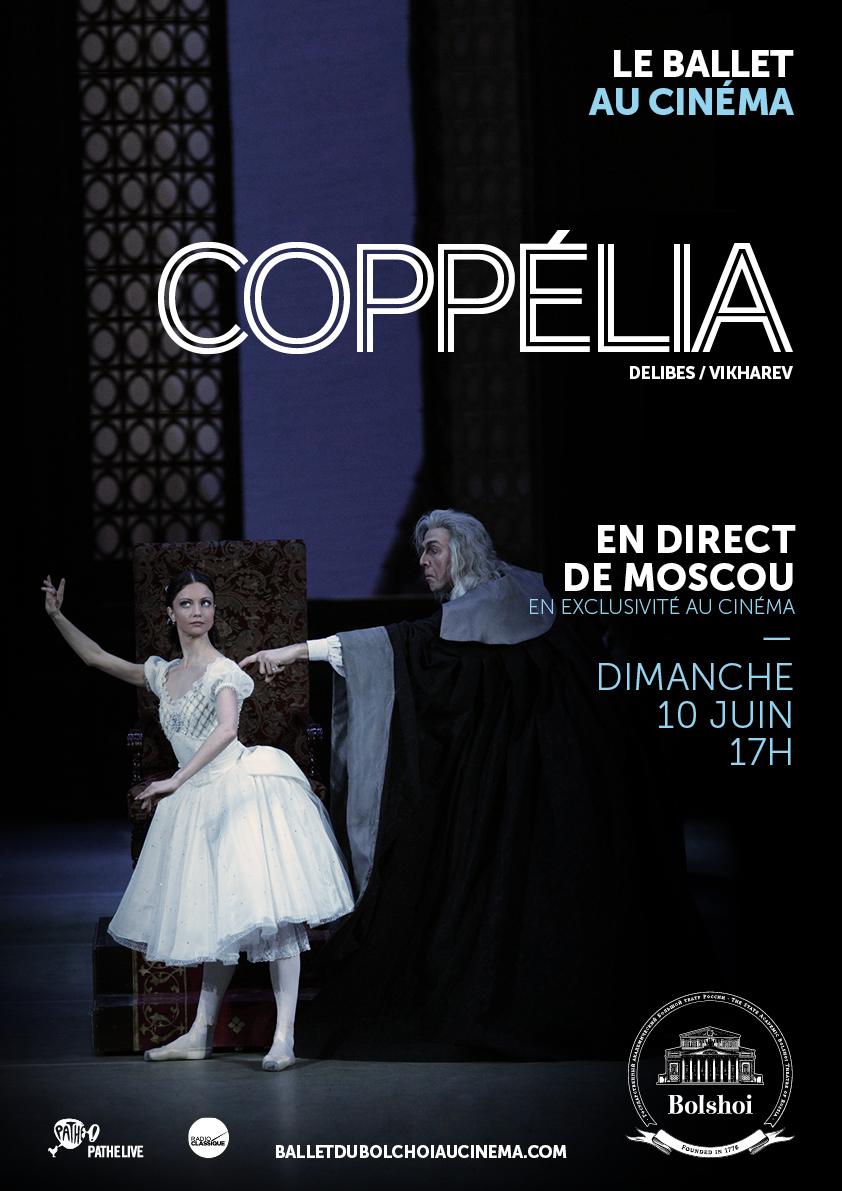 Image du film Coppélia (Bolchoï-Pathé Live)