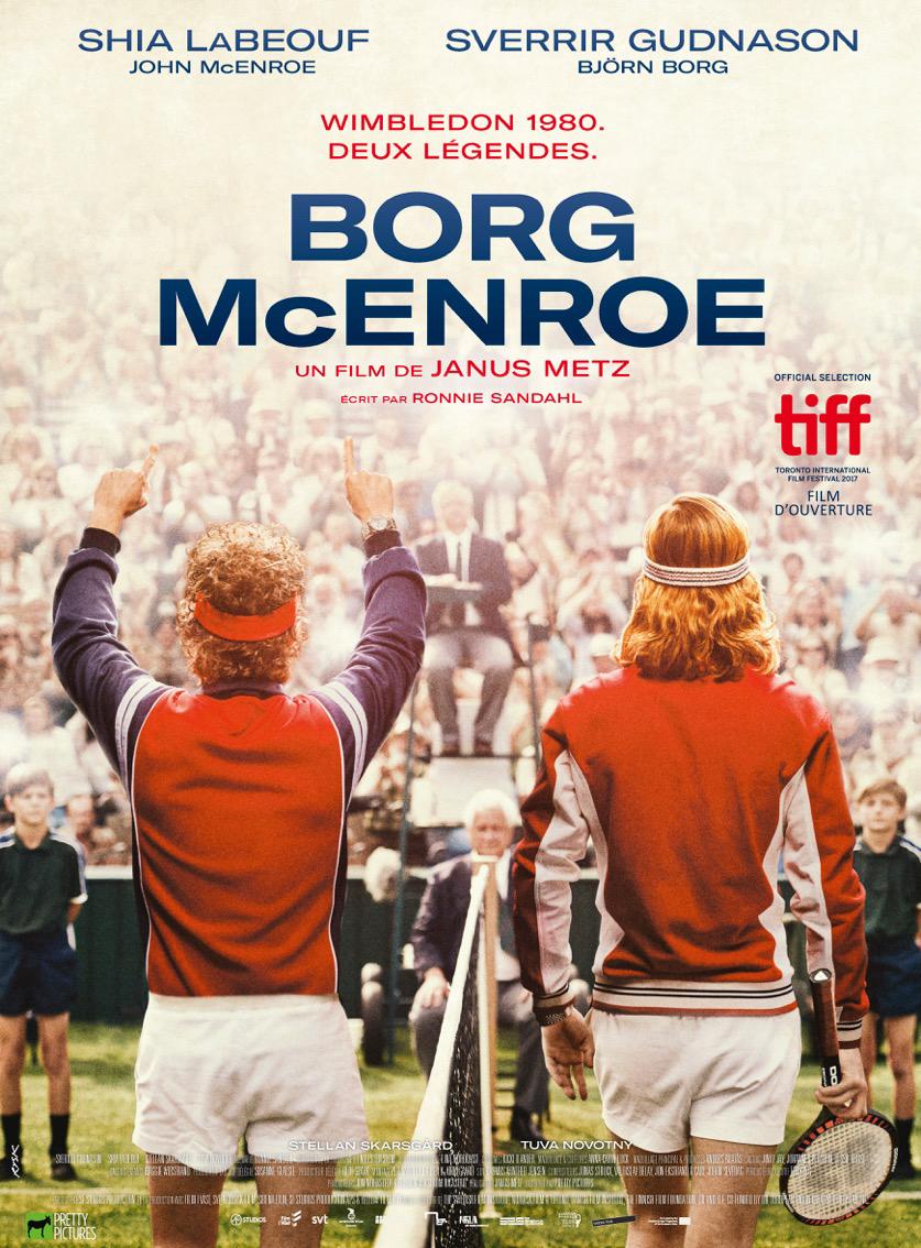 affiche du film : Borg/McEnroe