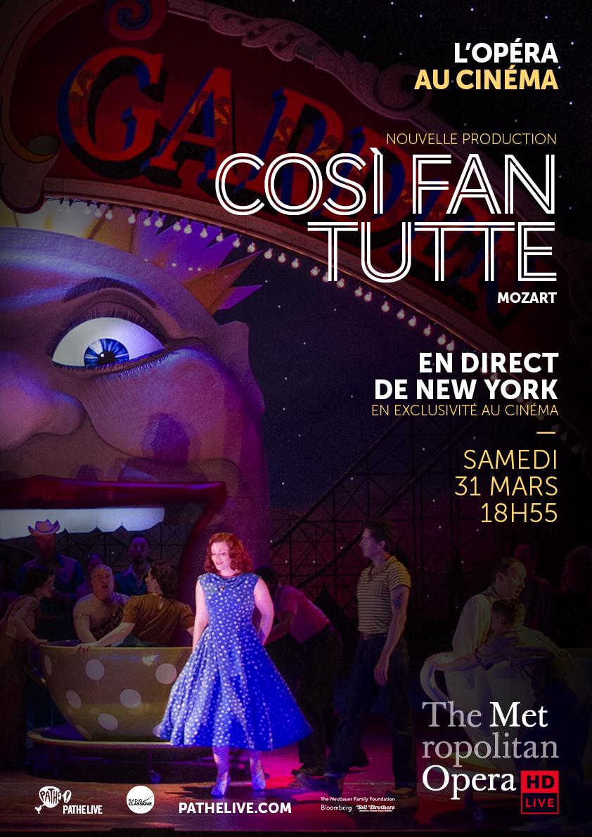 Image du film Cosi Fan Tutte (Met-Pathé Live)
