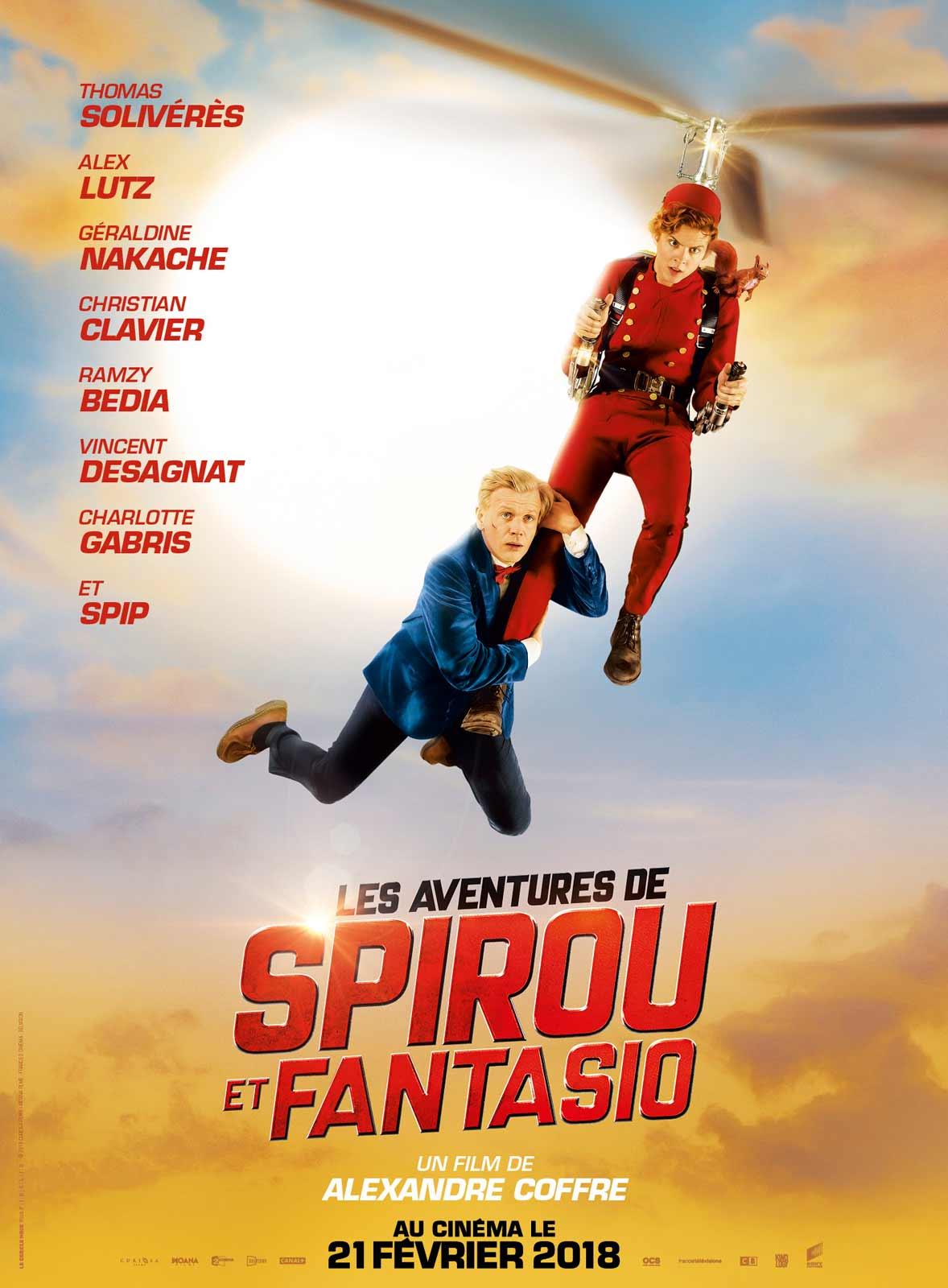 Extrem Les Aventures de Spirou et Fantasio - film 2018 - AlloCiné SJ73