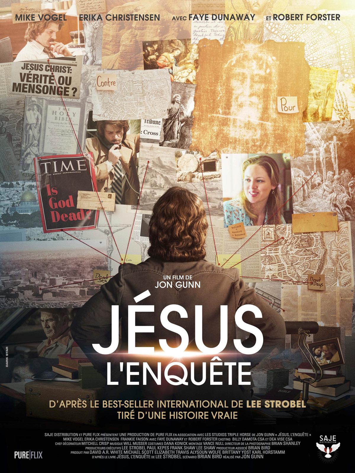 Affiche du film JESUS, L'Enquête