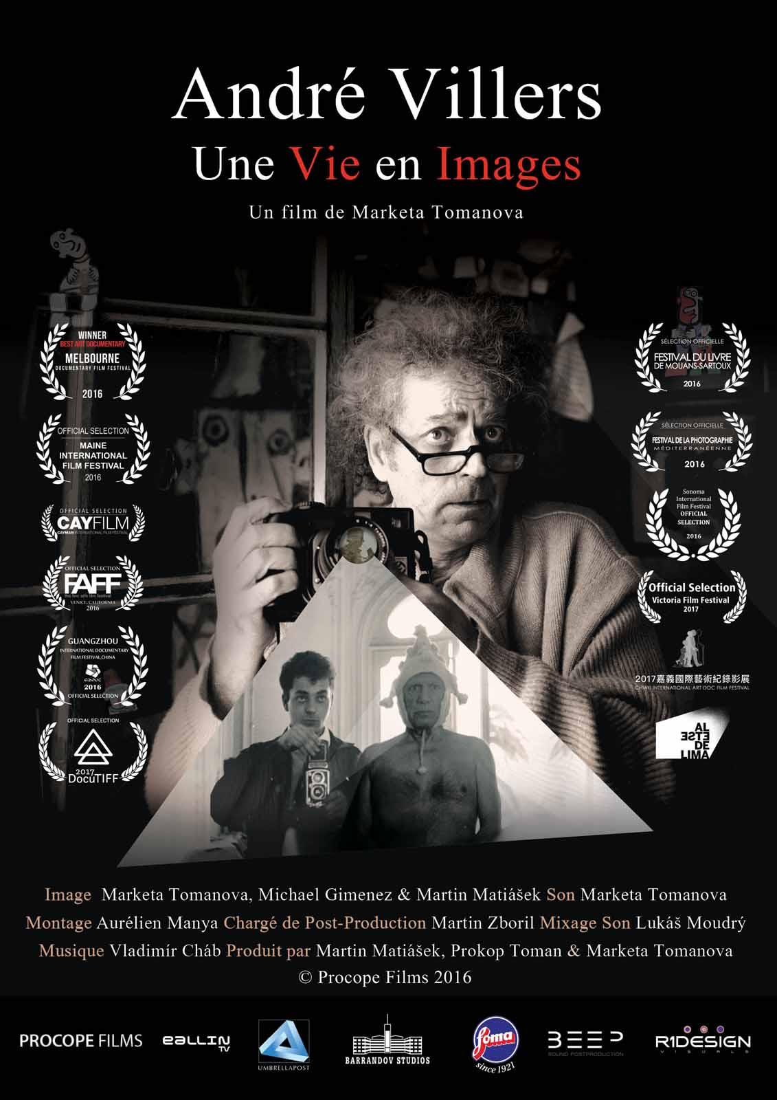Affiche du film André Villers, Une Vie en Images