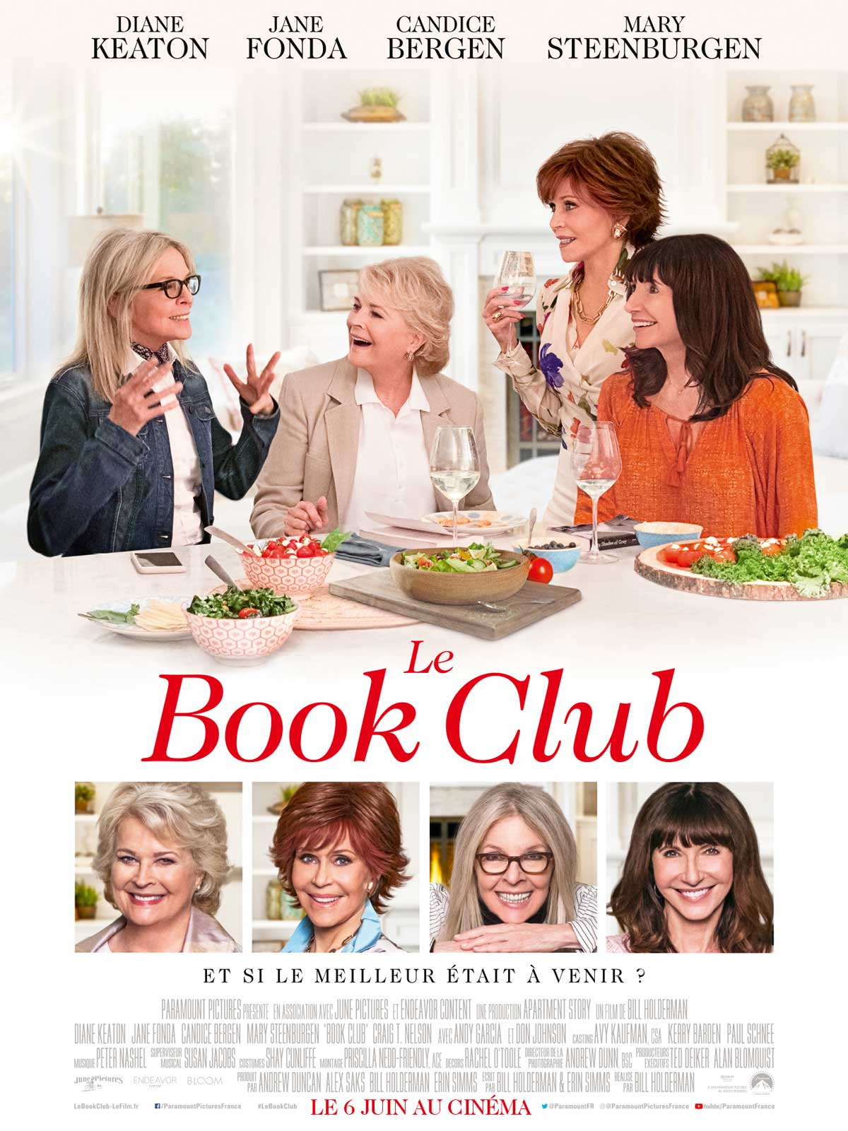 Le Book Club 2018 Qualité BDRIP | VO