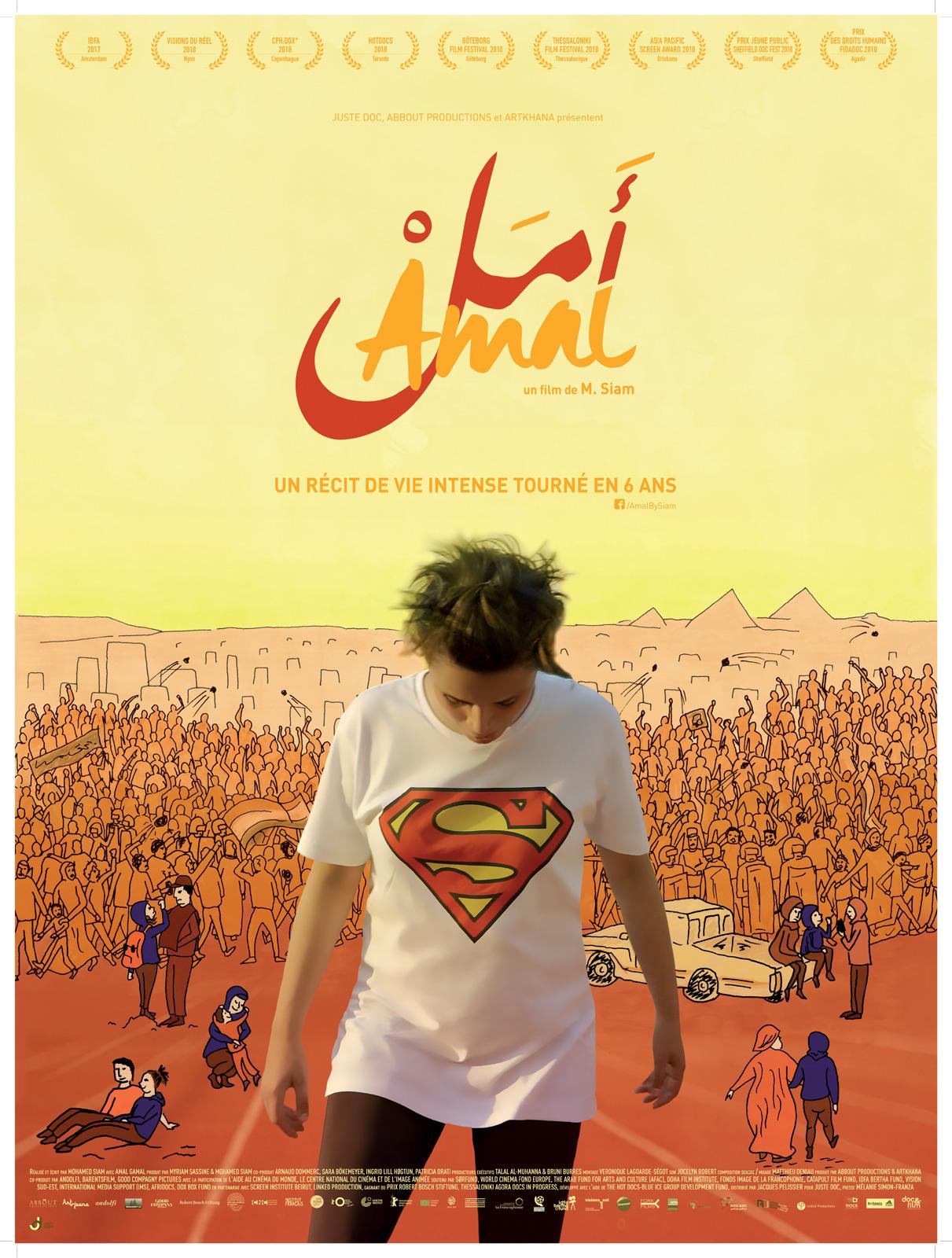 Affiche du film Amal