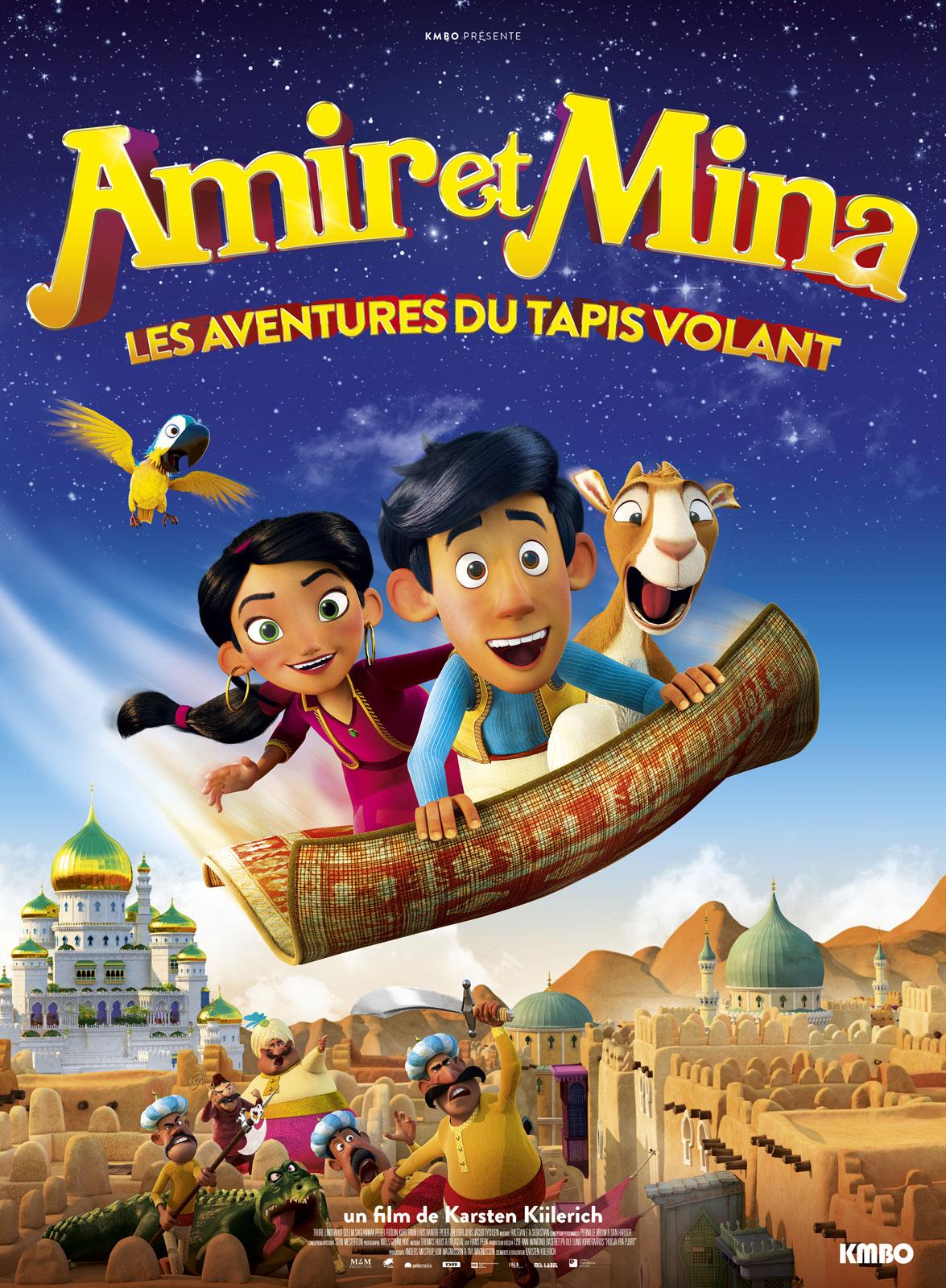 Image du film Amir et Mina : Les aventures du tapis volant
