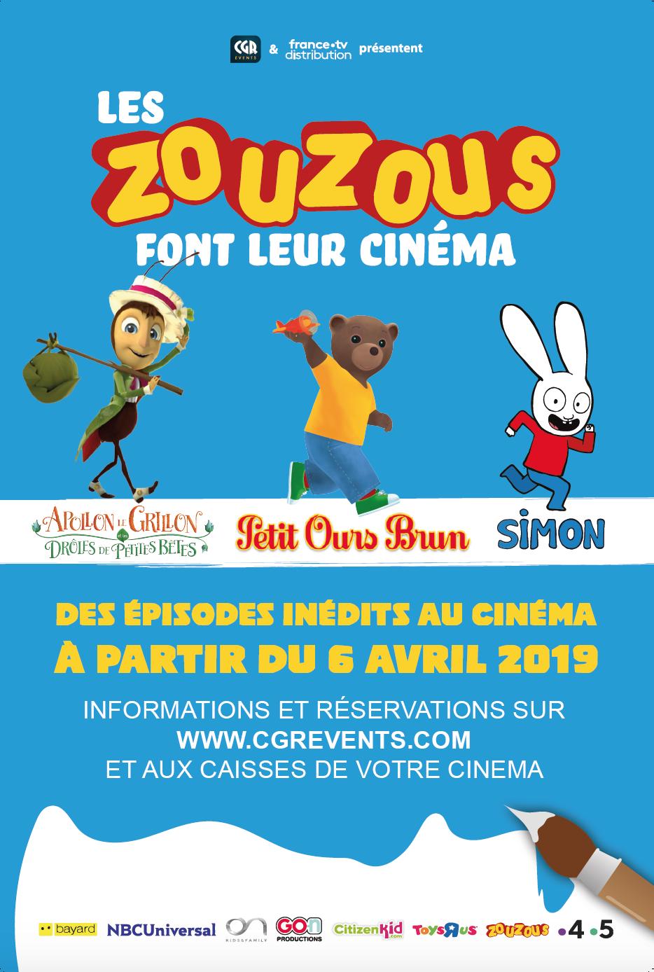 Les Zouzous font leur cinéma #2 (CGR Events)