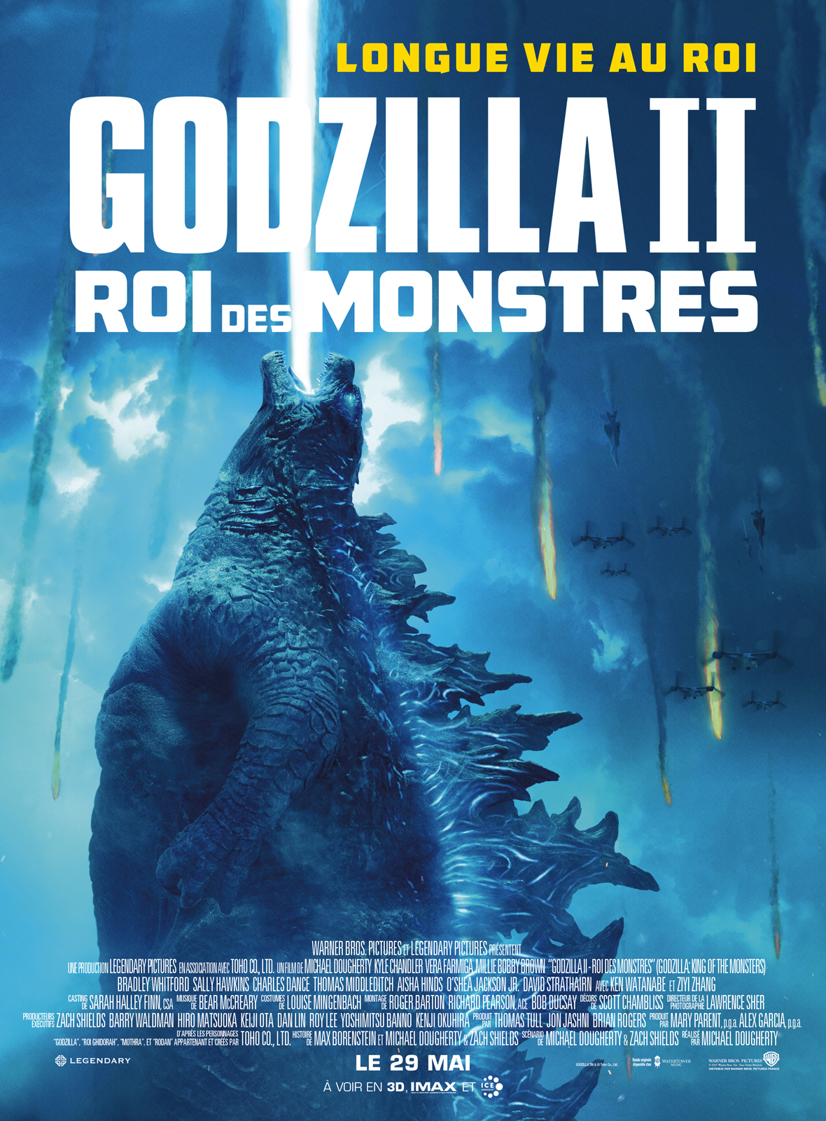 Godzilla 2 - Roi des Monstres streaming