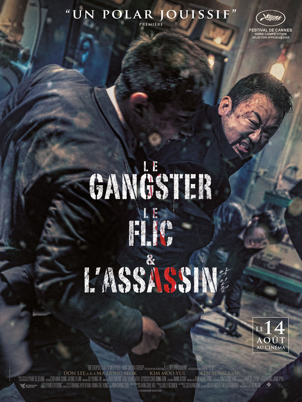 Affiche du film Le Gangster, le flic & l'assassin
