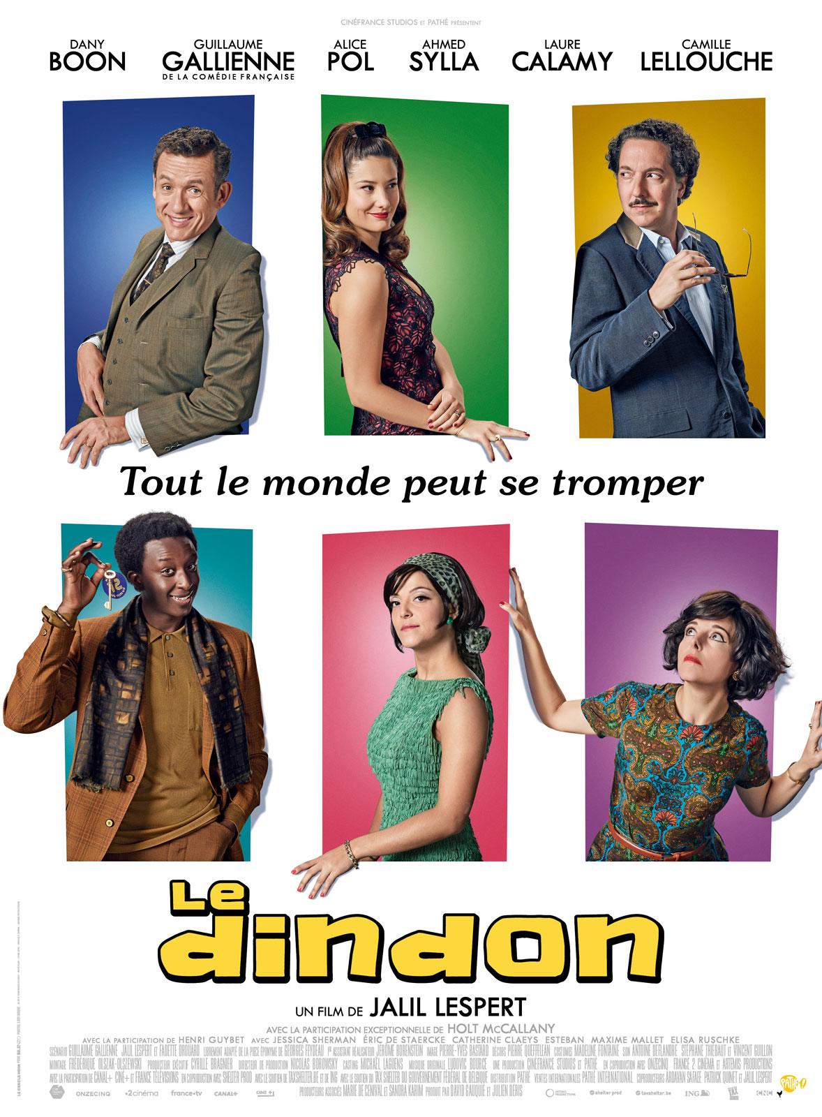 Affiche film LE DINDON