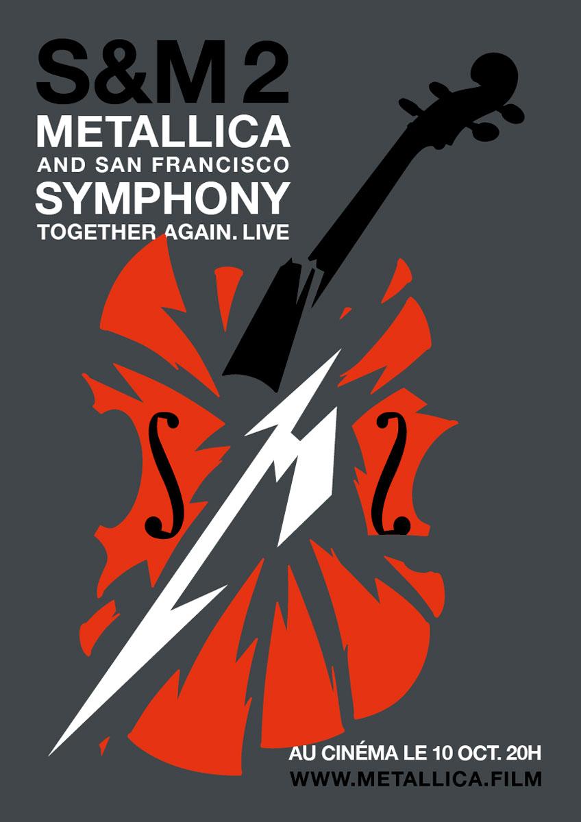 Affiche du film Metallica & San Francisco Symphony : S&M 2