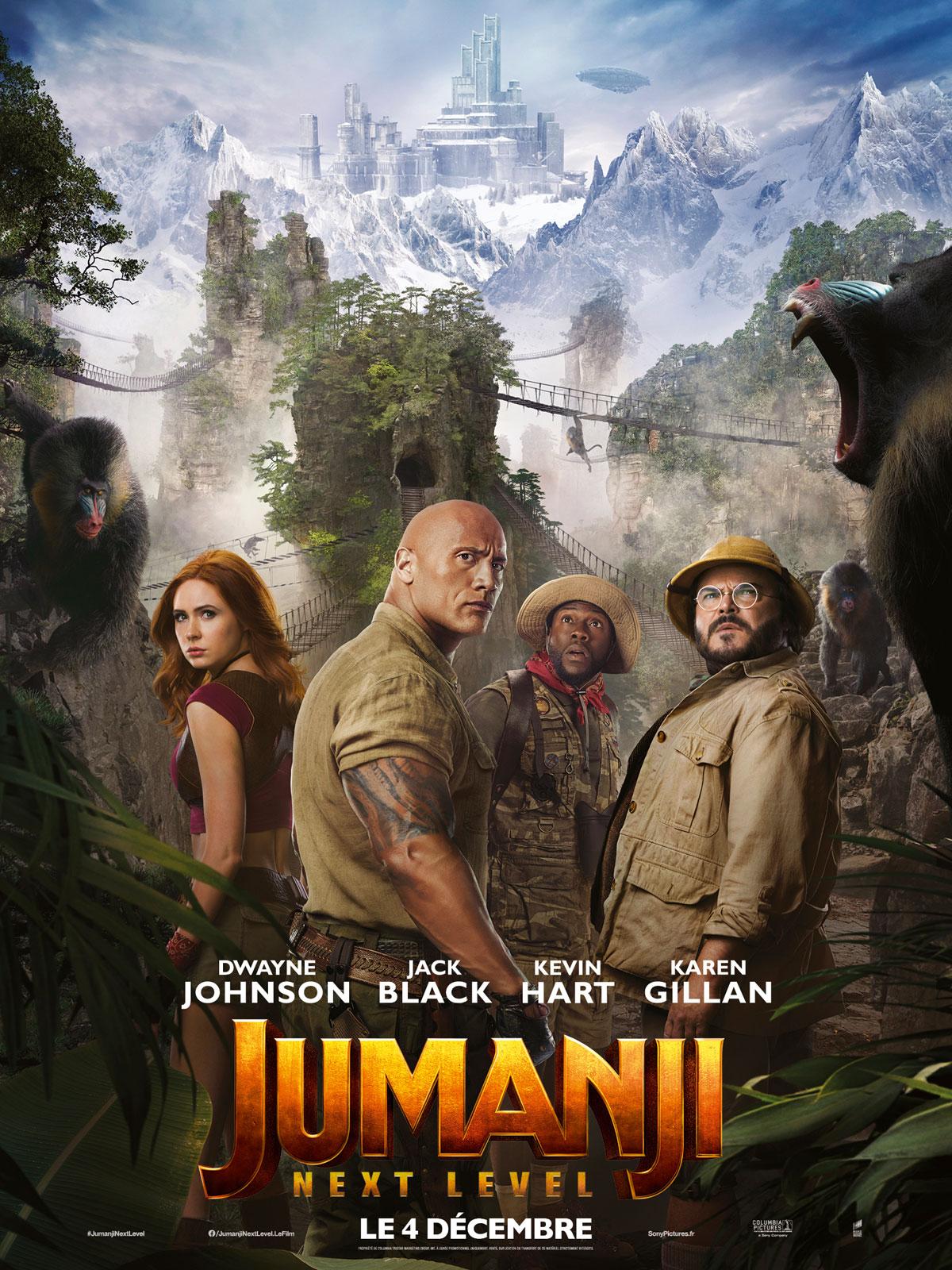 Jumanji: next level streaming