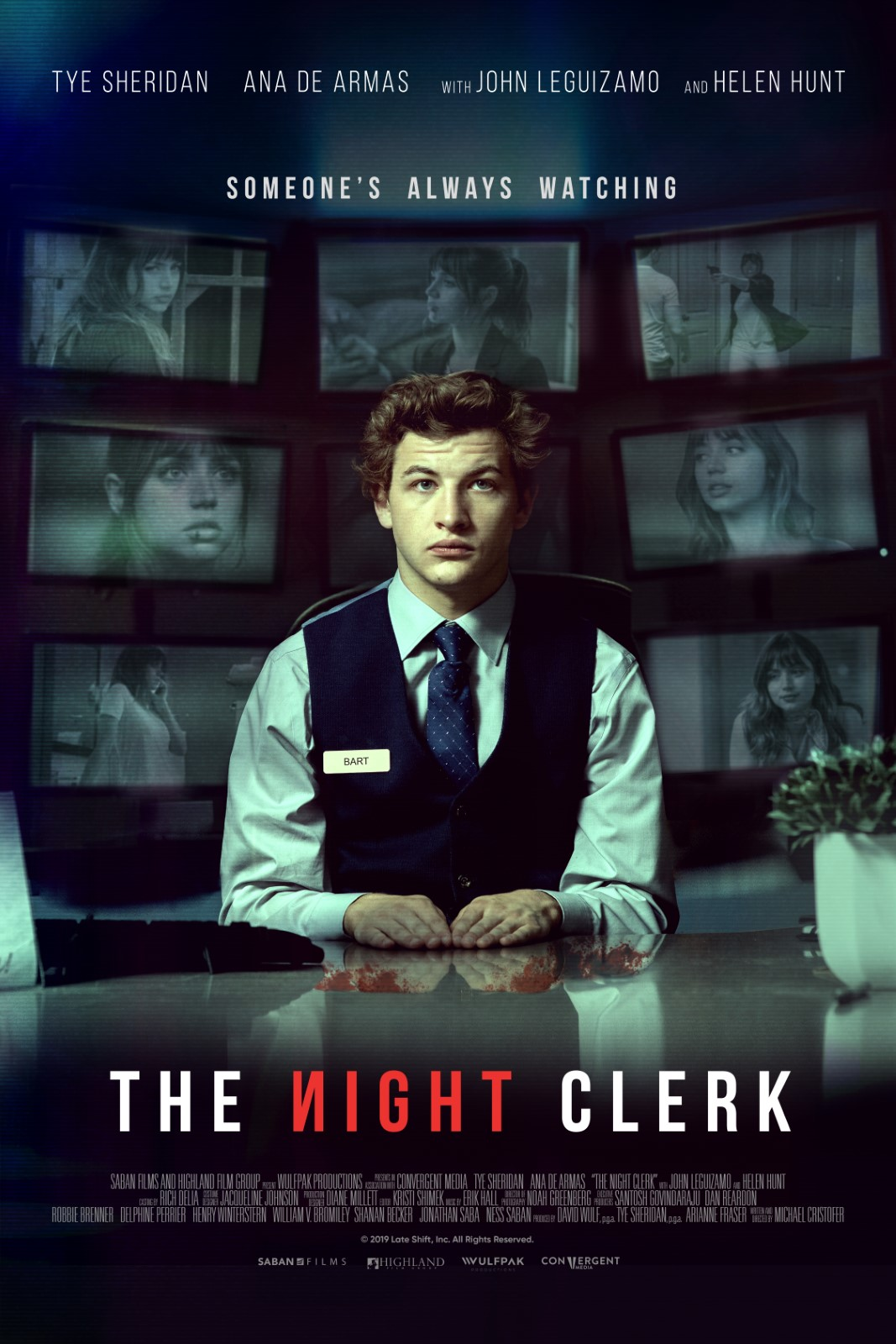 The Night Clerk streaming