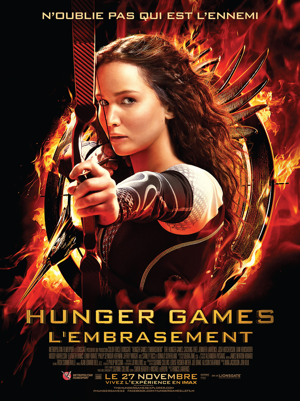 Hunger Games – L'embrasement [TRUEFRENCH] dvdrip
